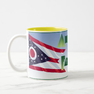 Ohio Farmer Two-Tone Coffee Mug