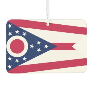 Ohio  flag, American state flag Car Air Freshener