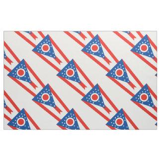 OHIO Flag Fabric
