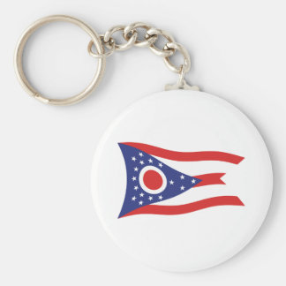 Ohio Flag Keychain