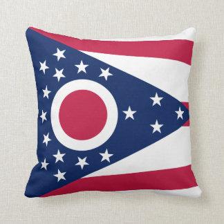 Ohio Flag pillow