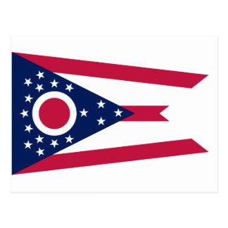 Ohio Flag Postcard