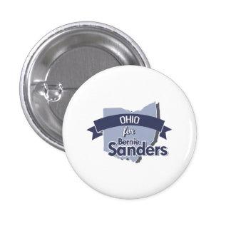 Ohio for Bernie Sanders 1 Inch Round Button