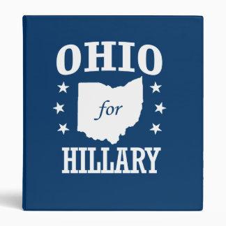OHIO FOR HILLARY BINDERS