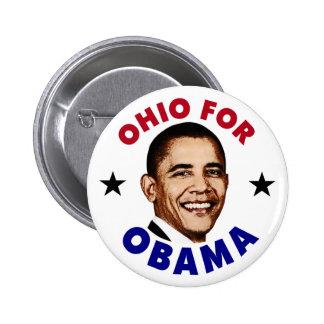 Ohio For Obama Pinback Button