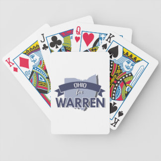 OHIO FOR WARREN -.png Bicycle Card Decks