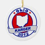 Ohio Fred Karger Ornamento De Navidad