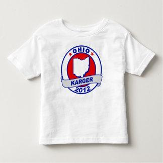 Ohio Fred Karger Toddler T-shirt
