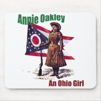 Ohio Girl, Annie Oakley Mouse Pad