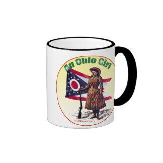 Ohio Girl, Annie Oakley Ringer Mug