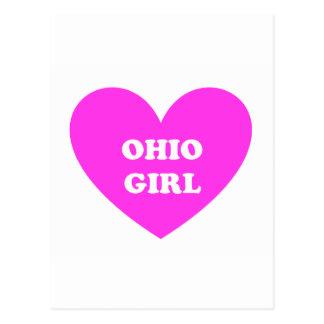 Ohio Girl Postcard