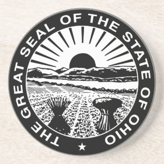 Ohio Great Seal Drink Coasters