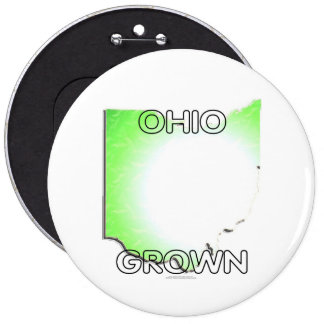Ohio Grown Pinback Buttons