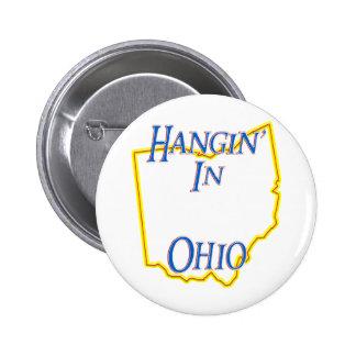 Ohio - Hangin' Button