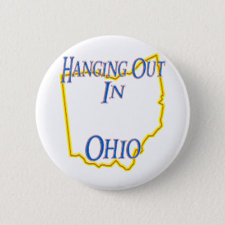 Ohio - Hanging Out Button