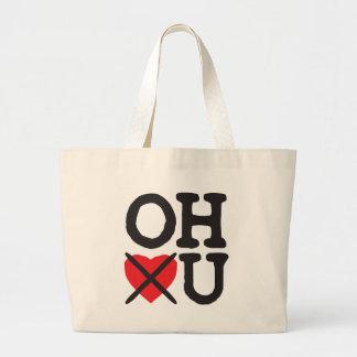 Ohio Hates You Large Tote Bag