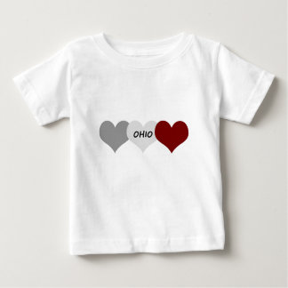 Ohio Heart T Shirt