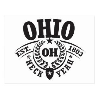 Ohio, Heck Yeah, Est. 1803 Postcard