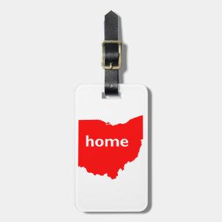 Ohio Home Luggage Tag