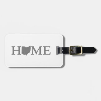 Ohio HOME State Luggage Tag