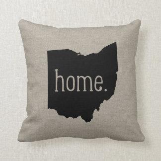 Ohio Home State Throw Pillow