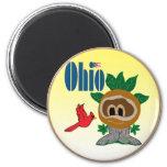 Ohio Imán Para Frigorífico