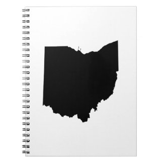 Ohio in Black and White Notebook