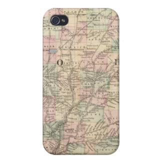 Ohio, Indiana 2 iPhone 4 Case