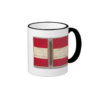 Ohio, Indiana, Cinncinnati Ringer Mug