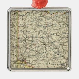 Ohio, Indiana, Kentucky, West Virginia Ornament