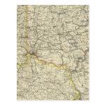 Ohio, Indiana, Kentucky, West Virginia Postcard