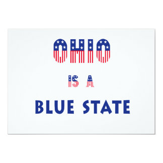 Ohio is a Blue State Card