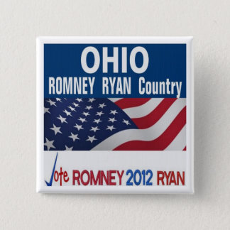 Ohio is Romney Ryan Country Button