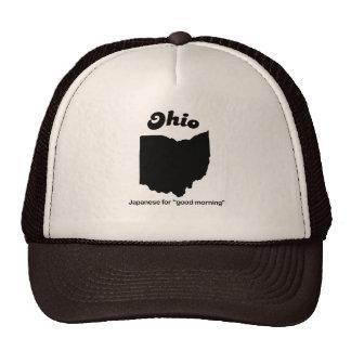 Ohio - japonés para la buena mañana gorros