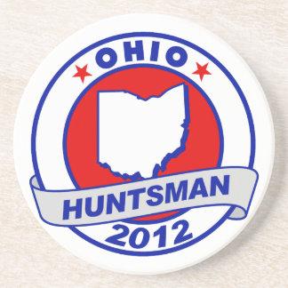 Ohio Jon Huntsman Beverage Coasters