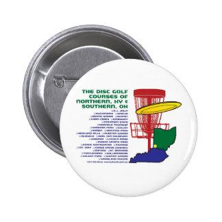 Ohio Kentucky Disc Golf Button