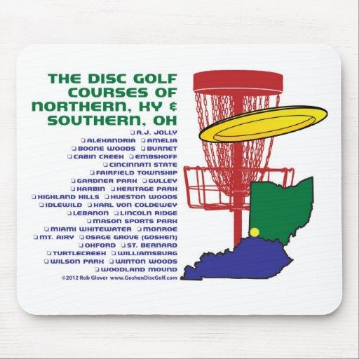 Ohio Kentucky Disc Golf Mouse Pad