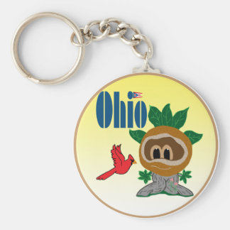 Ohio Key Chain