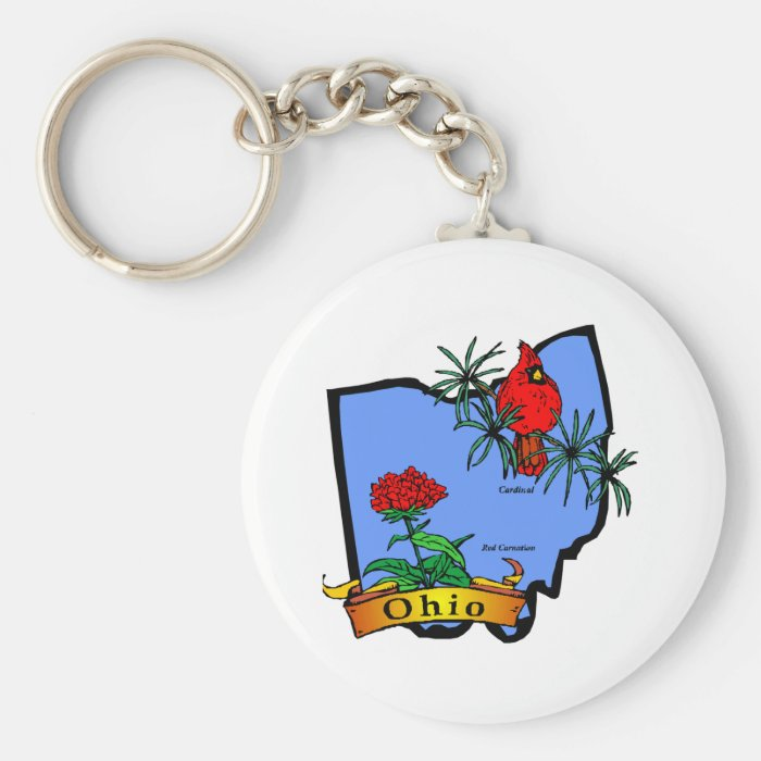 Ohio Keychain