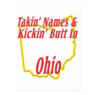 Ohio - Kickin' Butt Postcard