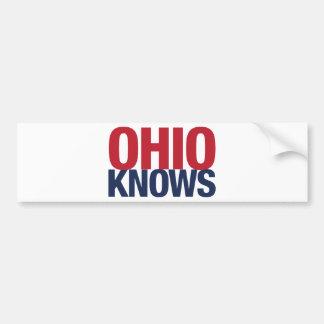 Ohio Knows Bumper Sticker