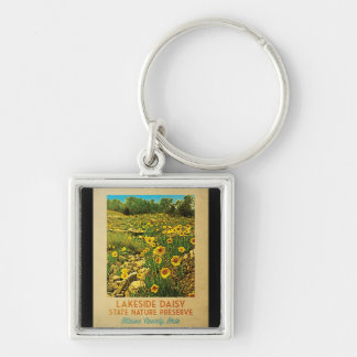 Ohio Lakeside Daisy Preserve Keychain