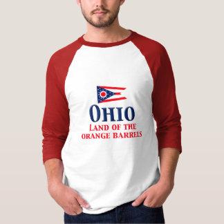 Ohio - Land of Orange Barrels T-Shirt