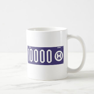 Ohio license plate centennial coffee mug