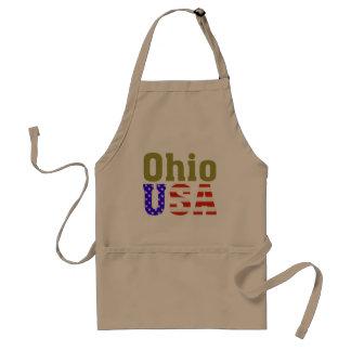 ¡Ohio los E E U U Delantales