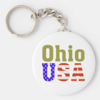 ¡Ohio los E.E.U.U.! Llavero
