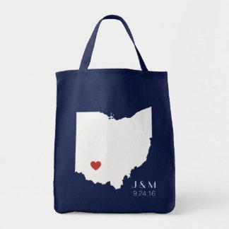 Ohio Love - Customizable Tote Bag