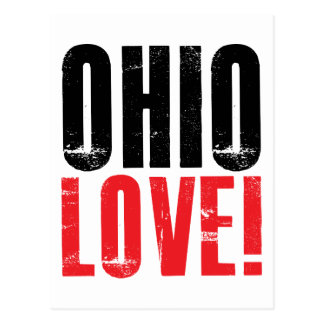 Ohio Love Postcard
