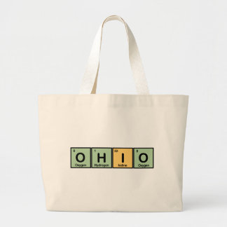 Ohio made of Elements Canvas Bag