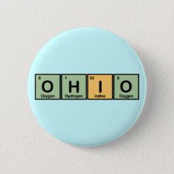 Round Button with Ohio design